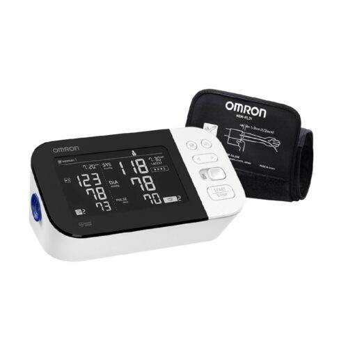 Omron - 10 Series - Wireless Upper Arm Blood Pressure Monitor - Black/White