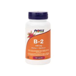 B-2 100 mg Capsules Now Foods
