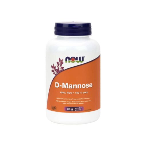 D-Mannose Organic Powder Now foods