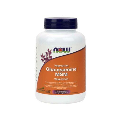 Glucosamine MSM Veg Capsules Now Foods