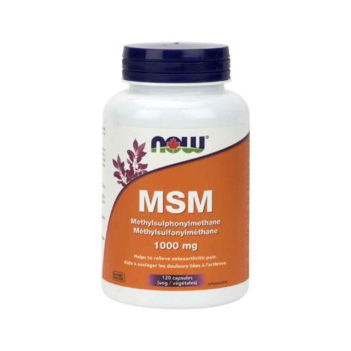 MSM 1000 mg Veg Capsules Now Foods