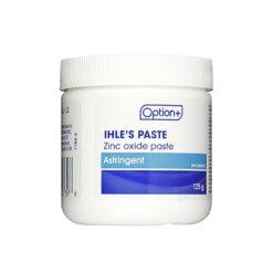 Option+ Ihle's Paste - Zinc Oxide Paste   125 g