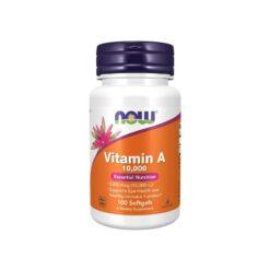 Vitamin A 10000 Softgels Now Foods